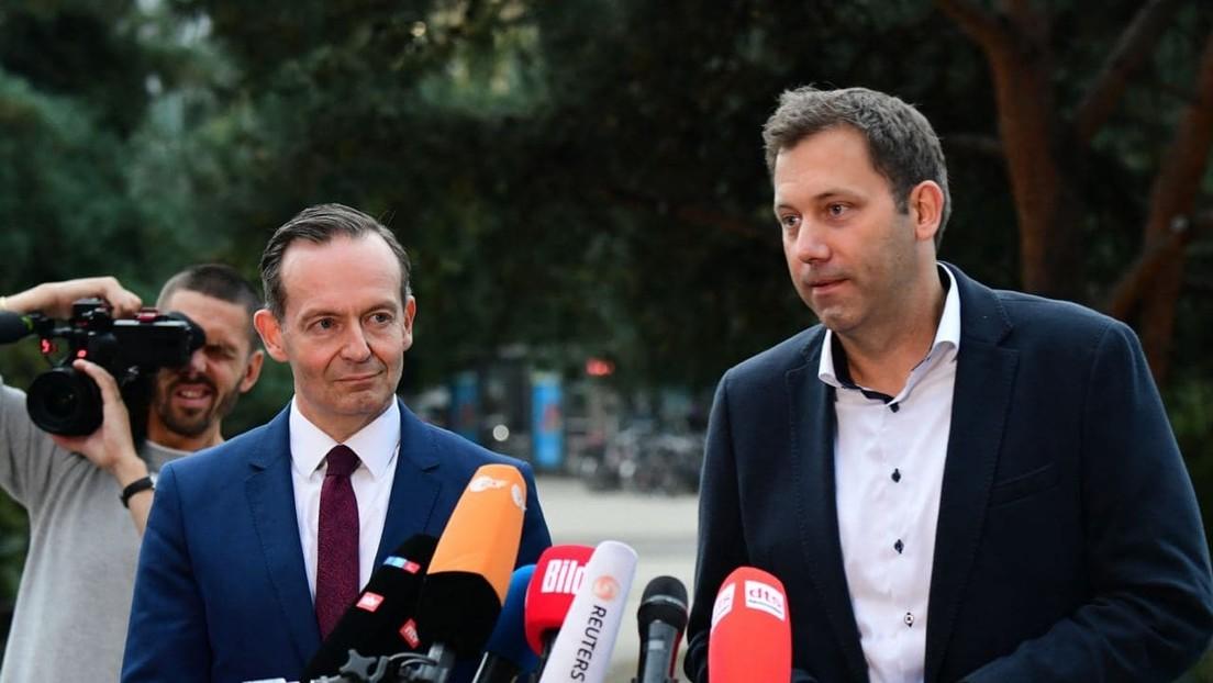 LIVE: Sondierungsgespräche von SPD und FDP haben begonnen