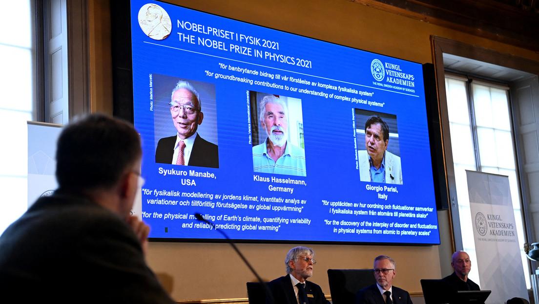 Nobelpreis 2021 für deutschen Physiker