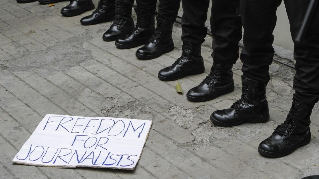 Weißrussland: Festnahmen von Journalisten nach Ermordung eines KGB-Offiziers