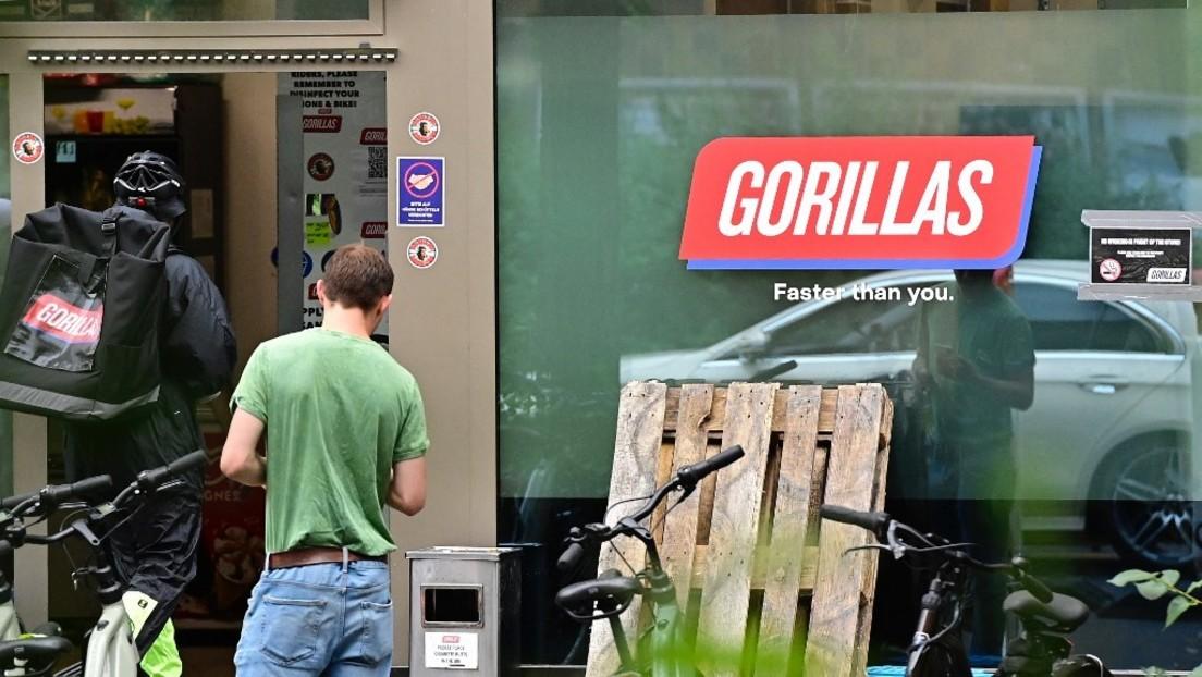 Arbeitskampf eskaliert: Lieferdienst Gorillas schmeißt streikende Fahrer raus