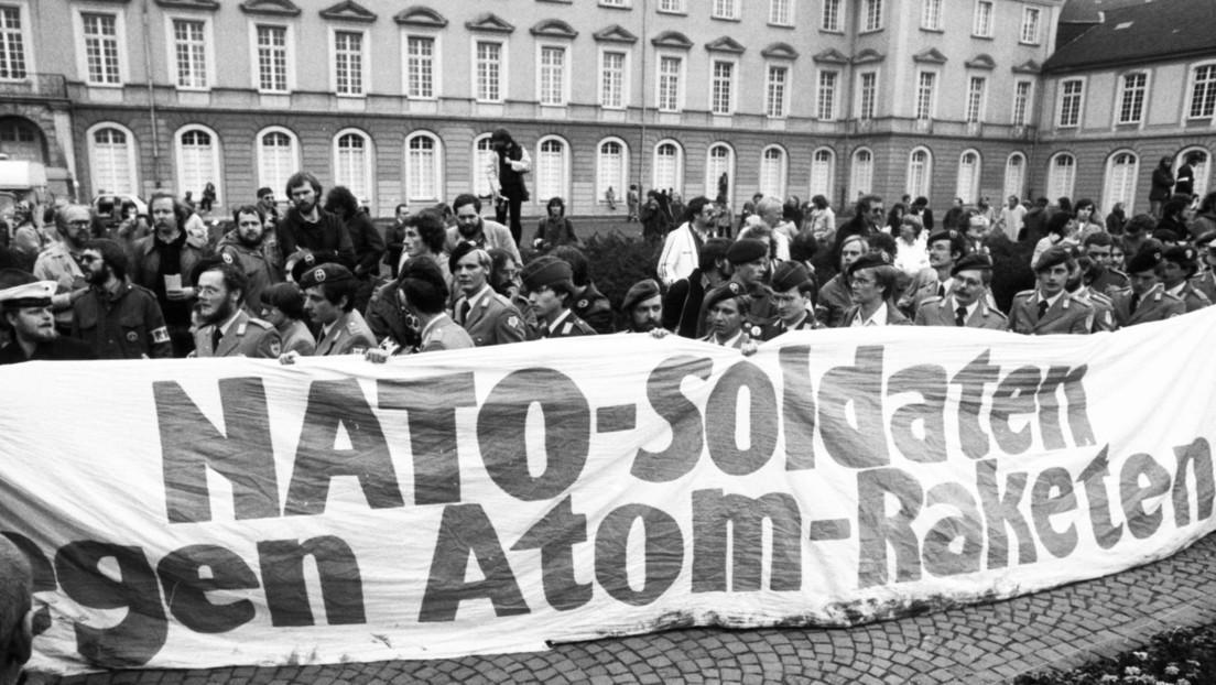 """""""Gegen die atomare Bedrohung gemeinsam vorgehen"""" – Vierzig Jahre Bonner Friedensdemonstration"""