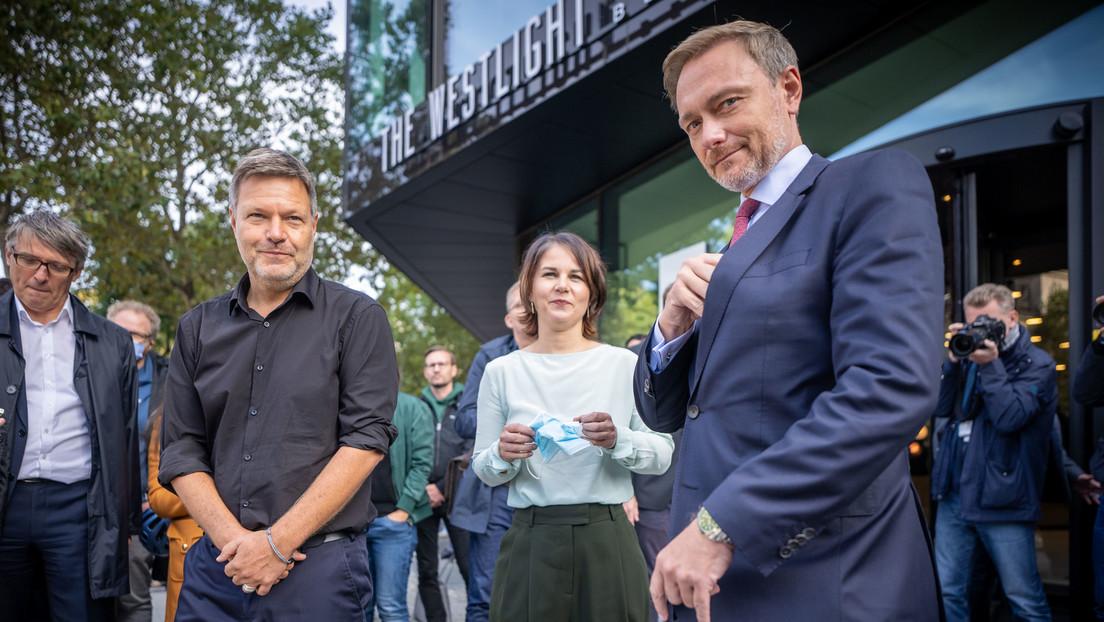 Baerbock: Grüne für Sondierungsgespräche mit SPD und FDP