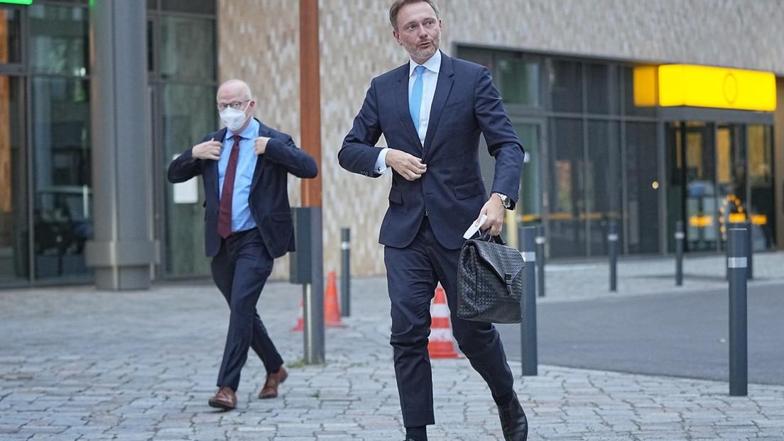 Lindner: FDP nimmt Angebot für Sondierung mit SPD und Grünen an
