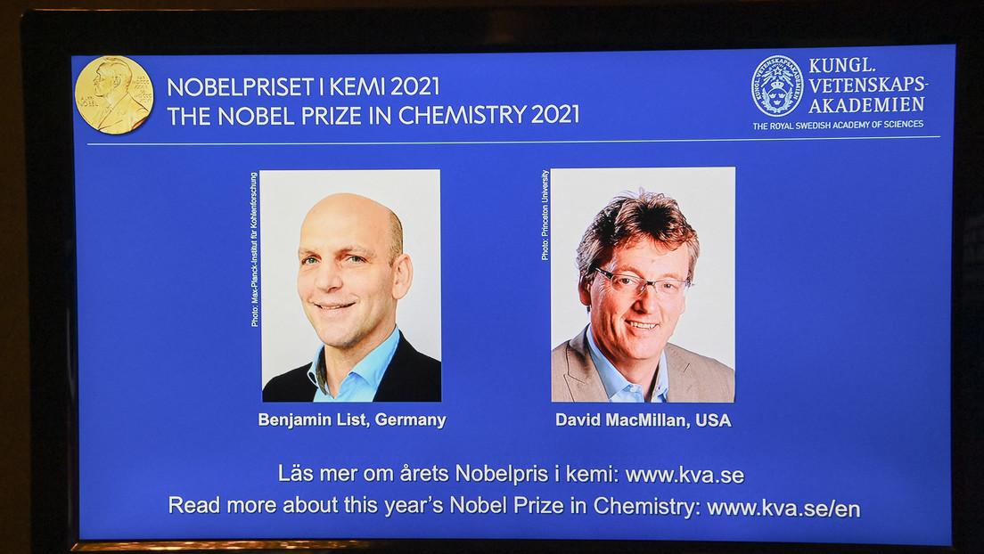 Chemie-Nobelpreis 2021 für den Deutschen Benjamin List und einen US-Forscher