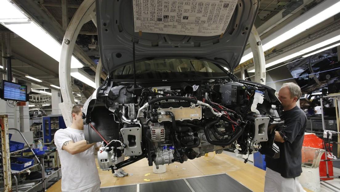 Deutsche Industrieaufträge brechen im August deutlich ein