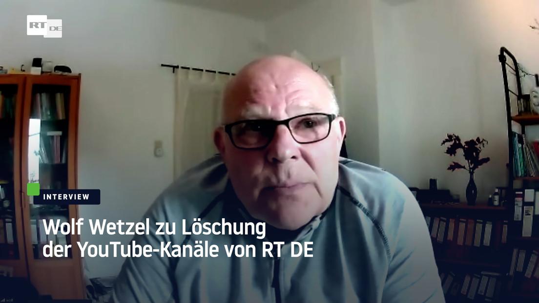 """Zensur von RT DE durch YouTube: Journalist beklagt """"Privatjustiz"""""""