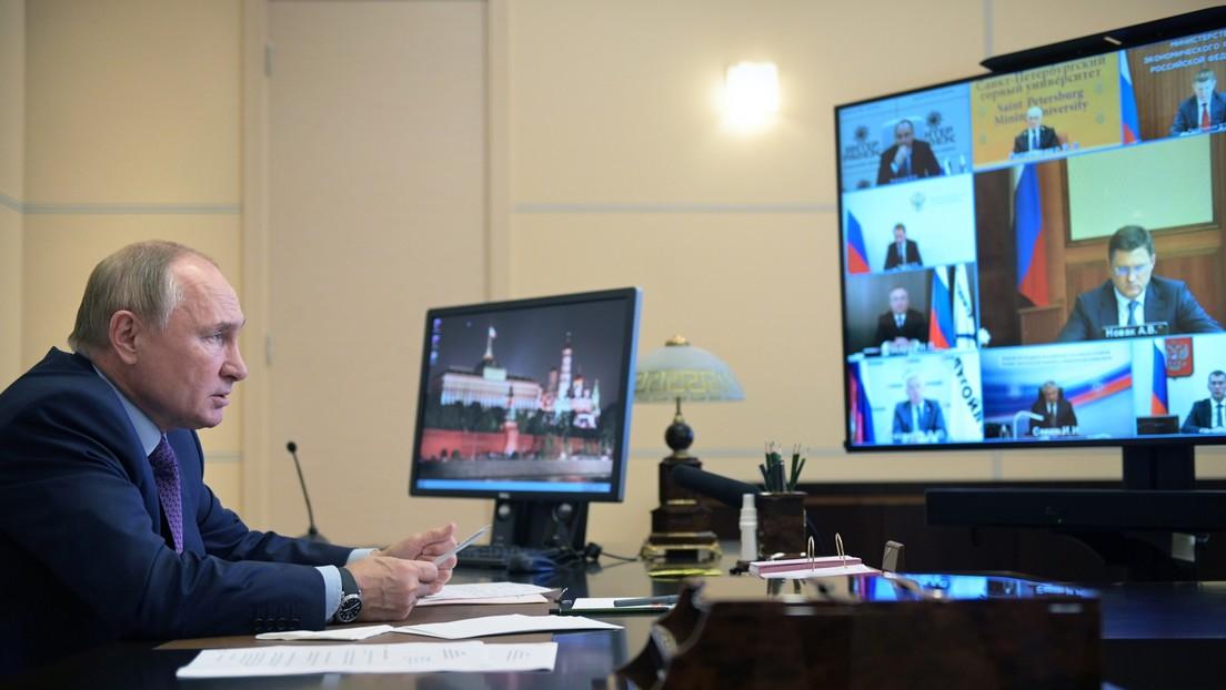 Putin zum Gastransit in EU durch Ukraine: Russland bringt andere Länder nicht in schwierige Lage