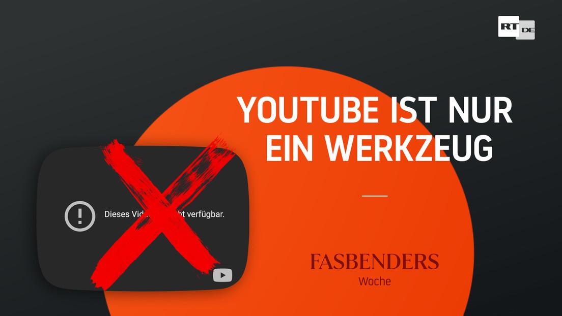 Fasbenders Woche: YouTube ist nur Werkzeug