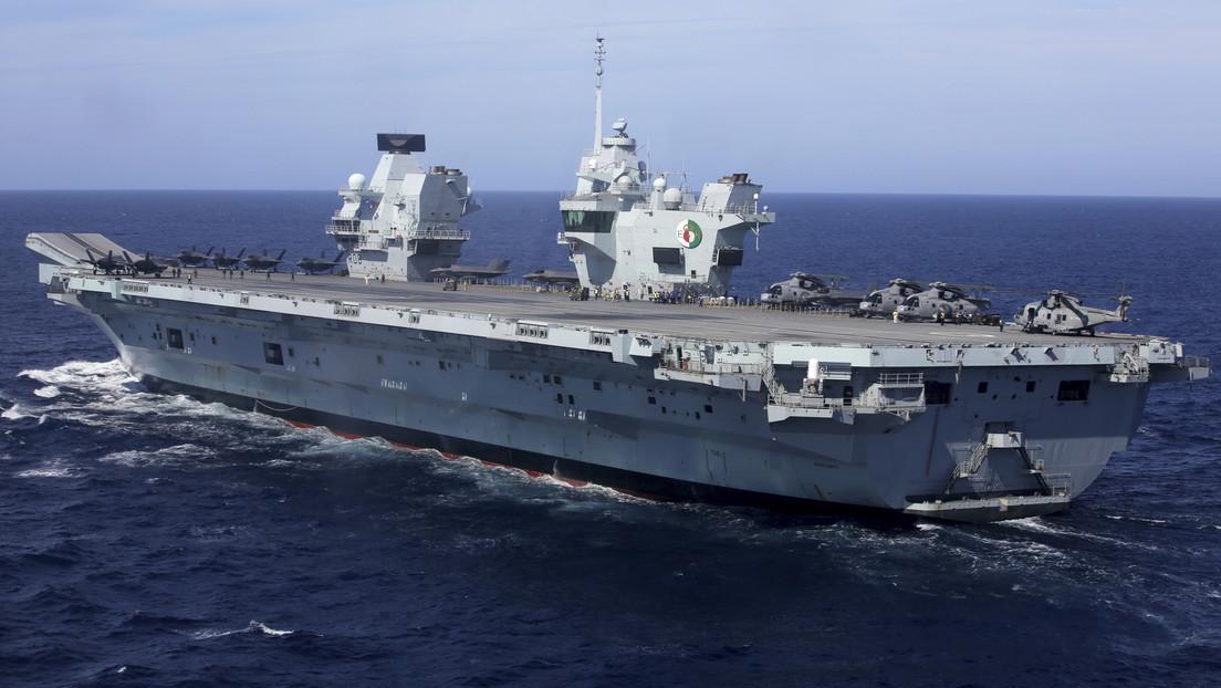 Kriegsschiffe aus sechs Ländern unter britischer Führung im Südchinesischen Meer aktiv