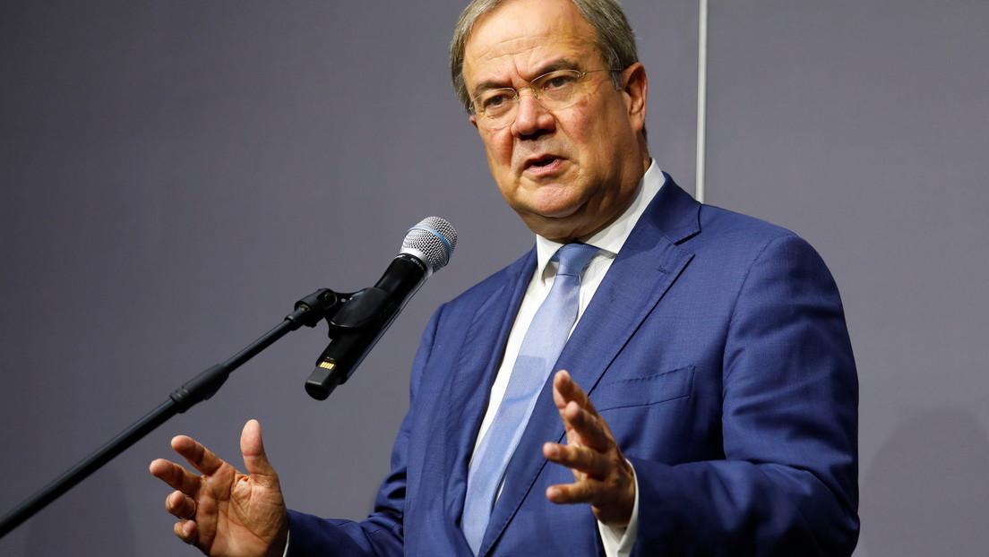 Nach Andeutung von Rücktritt: CDU-Vorsitzender Armin Laschet gibt Pressekonferenz