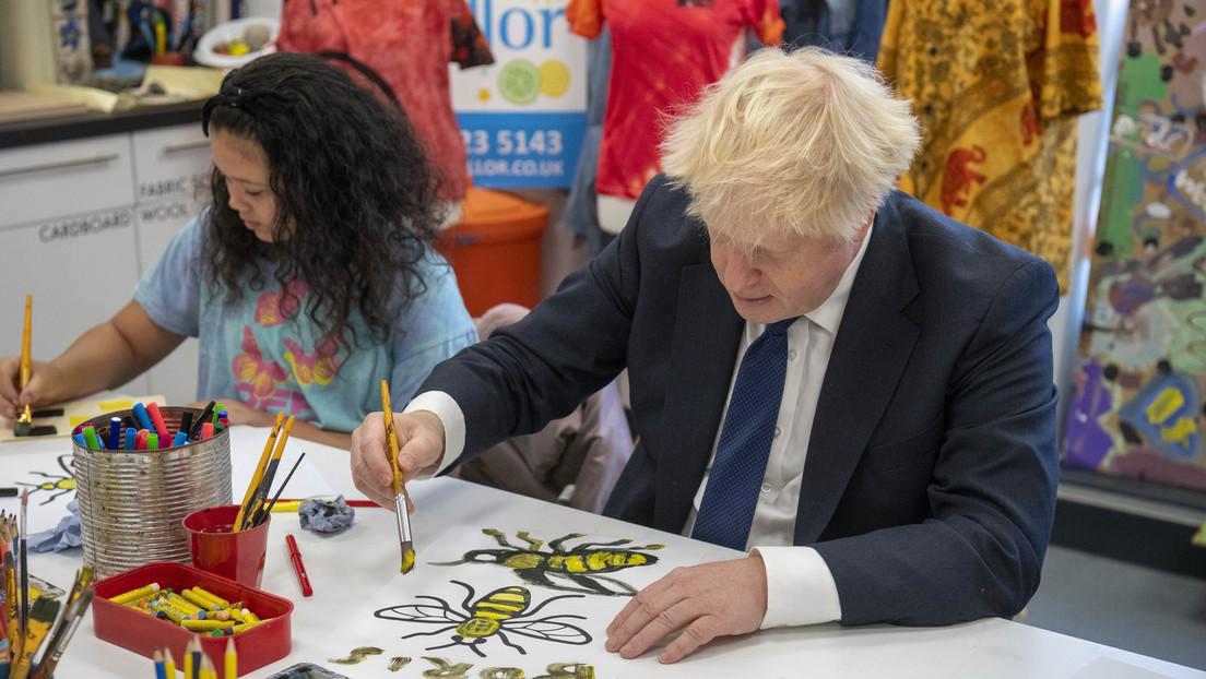 Weinende Landwirte, verärgerte Unternehmer und  Boris Johnson provoziert mit Eigenlob