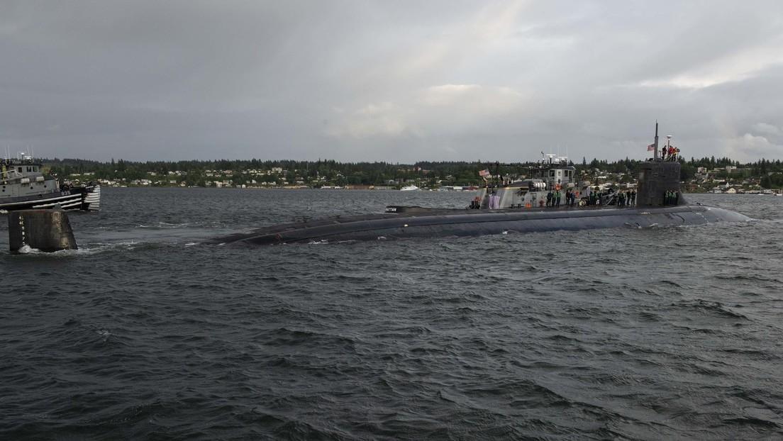 """Indopazifik: Atom-U-Boot der USA kollidiert mit einem """"Objekt"""""""