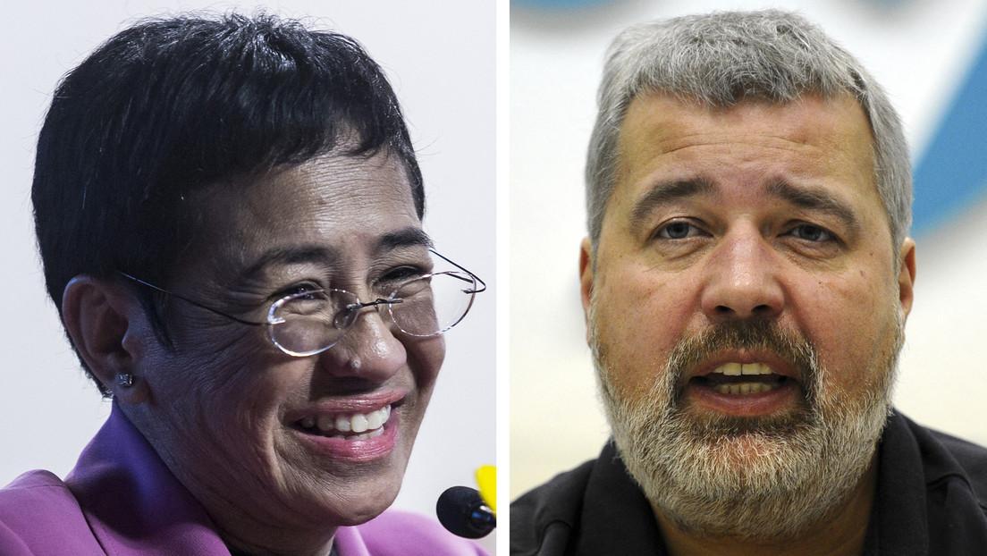Friedensnobelpreis 2021 geht an zwei Journalisten: Maria Ressa und Dmitri Muratow