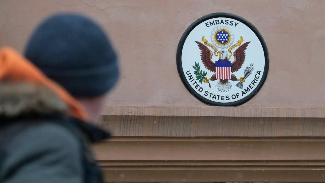 Russische Polizei verdächtigt drei US-Sicherheitskräfte aus US-Botschaft in Moskau des Diebstahls