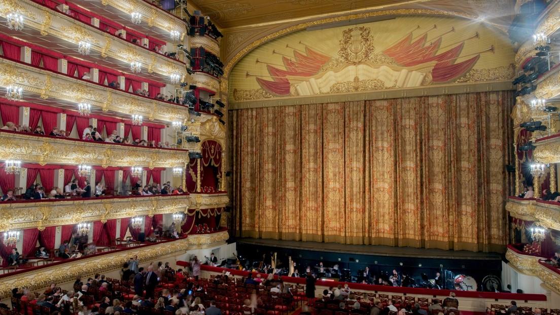 Horror im Bolschoi-Theater: Darsteller stirbt bei Aufführung