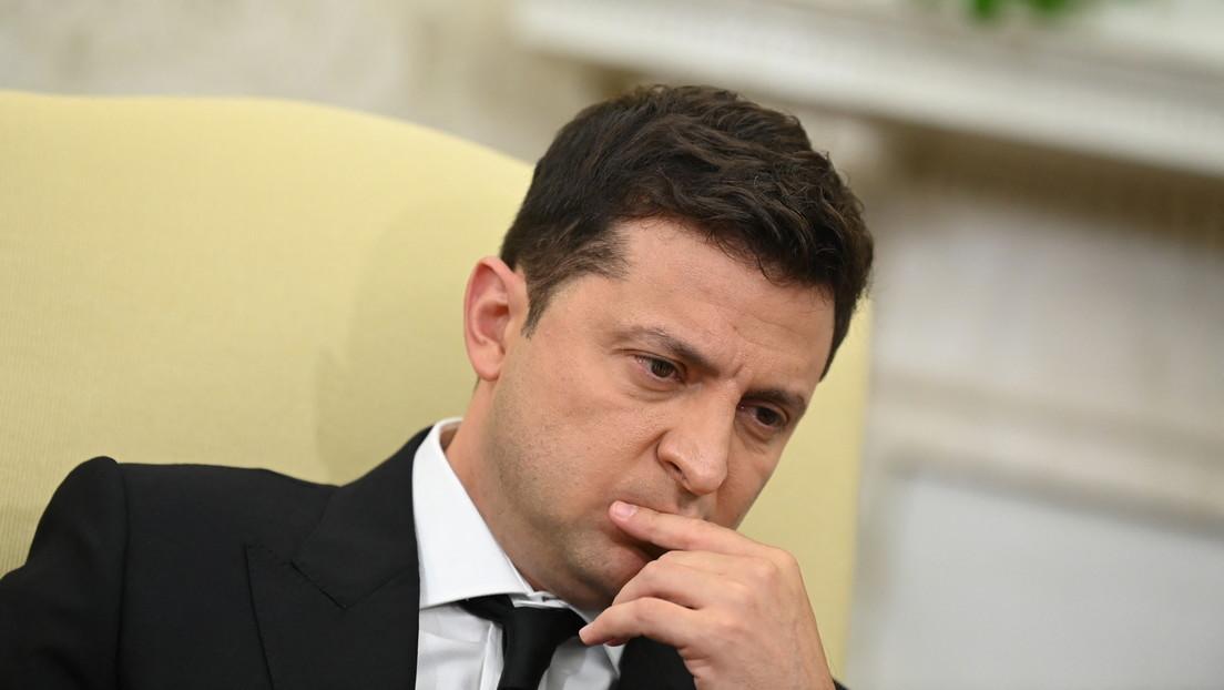 Ukraine: Autokorso und Demonstration  vor Präsidentenresidenz in Kiew