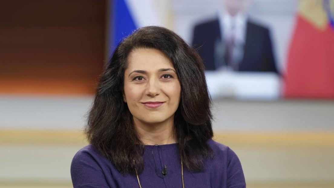 """Barrikadenbraut"" Golineh Atai präsentiert neue ARD-Doku ""Zerrissene Ukraine"""