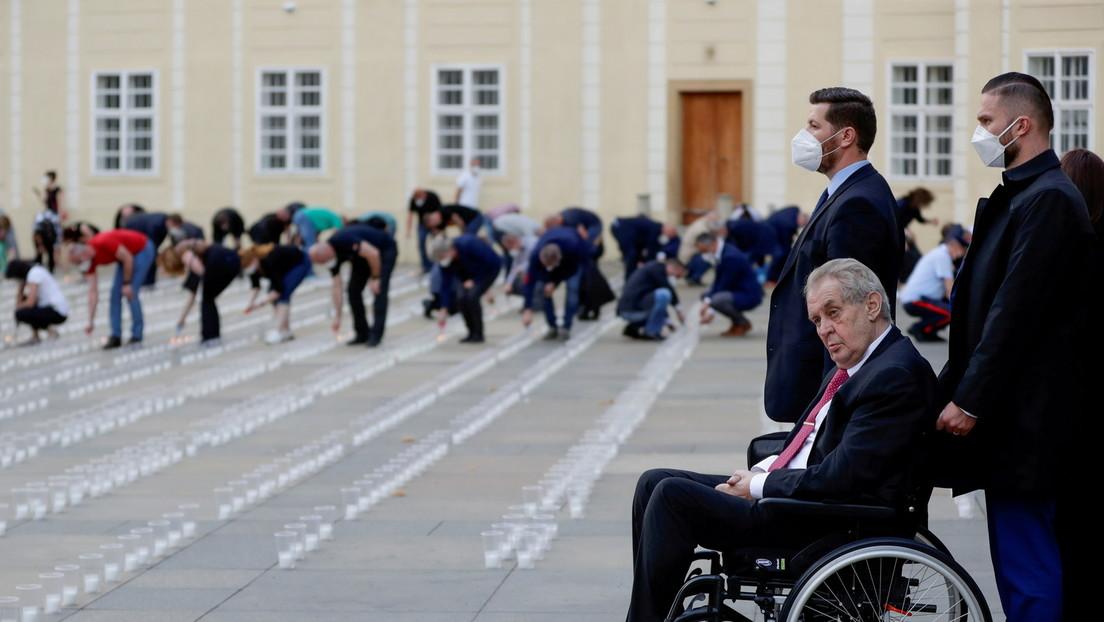 Tschechiens Präsident Zeman auf der Intensivstation – Kann er im Amt bleiben?