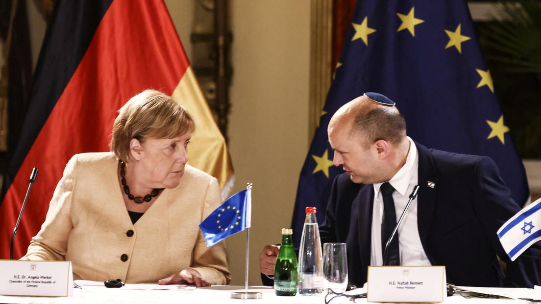 """Merkels Abschiedsbesuch in Jerusalem: Sicherheit Israels ist """"deutsche Staatsräson"""""""