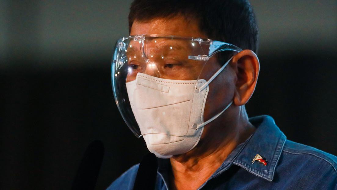 Duterte: Lasst uns sie impfen, während sie schlafen