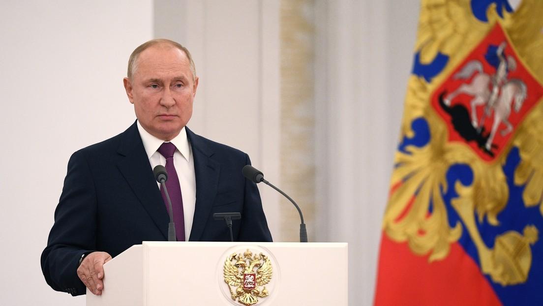 Putin begrüßt neugewählte Staatsduma und nennt Hauptfeind Russlands