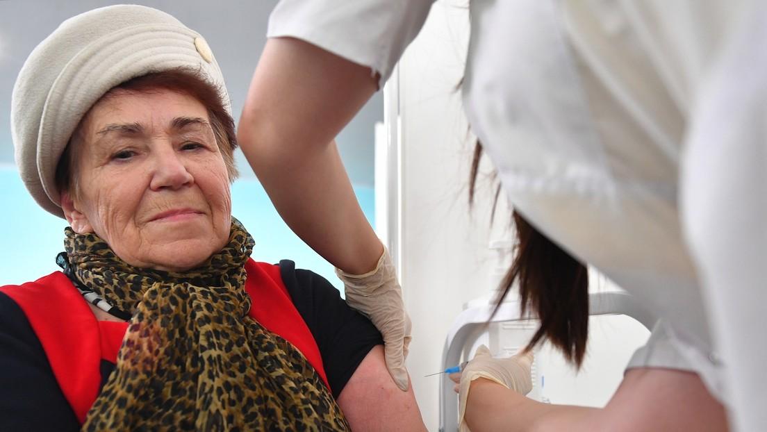 Neuer Anreiz: Moskau zahlt an Senioren 120 Euro für Impfung