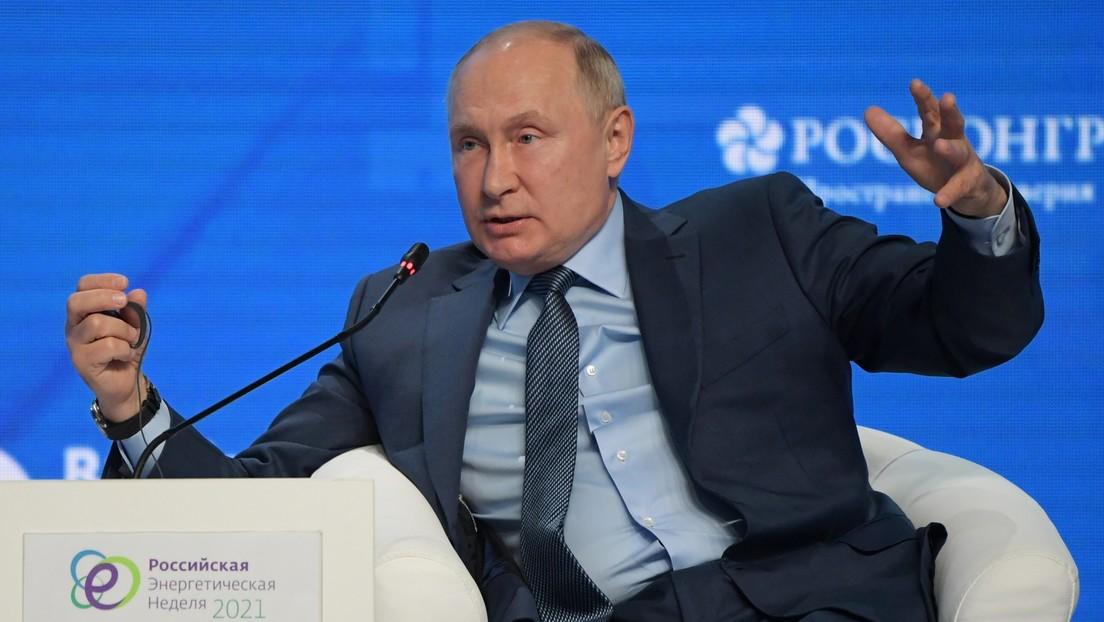 """Wladimir Putin zu Energiekrise in EU: """"Man darf nicht anderen die Schuld in die Schuhe schieben"""""""