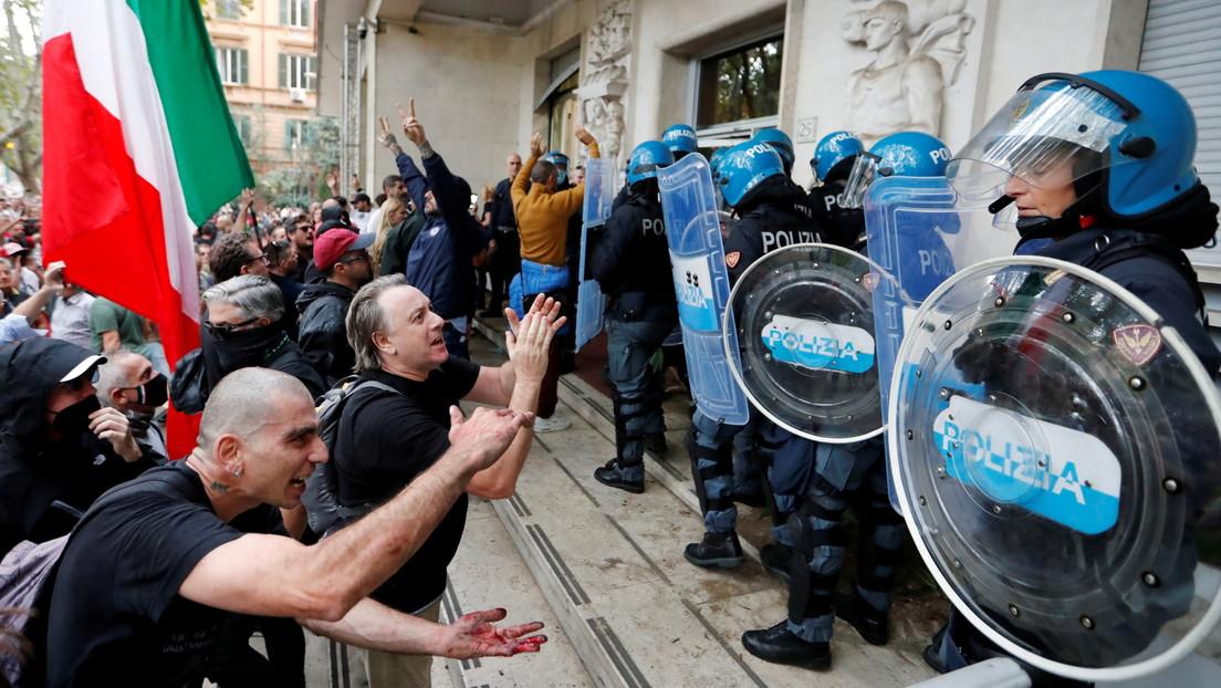 Weitere Proteste gegen Grünen Pass in Italien erwartet – Hafenmitarbeiter drohen mit Blockade
