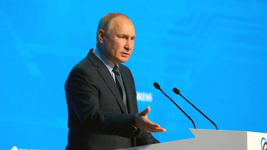 Putin: USA untergraben selbst den US-Dollar als Reservewährung