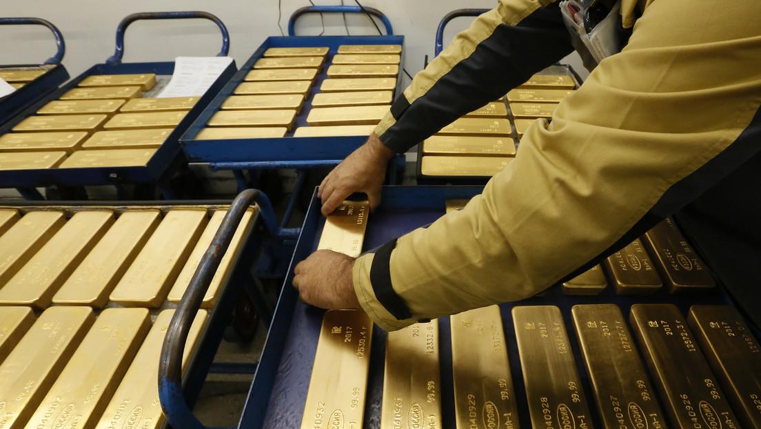 Russland hält die fünftgrößten Gold- und Devisenreserven der Welt