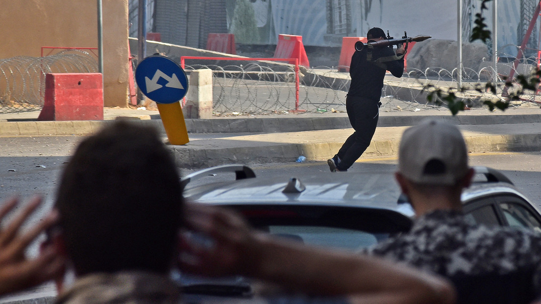 Heftige Schießerei in Beirut: Mehrere Tote und Verletzte bei Protesten vor Justizpalast