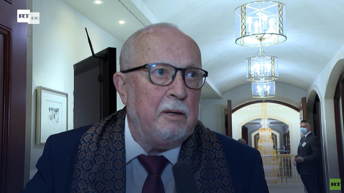 """Lothar de Maizière: """"Wir müssen dafür kämpfen, dass Petersburger Dialog fortgeführt wird"""""""