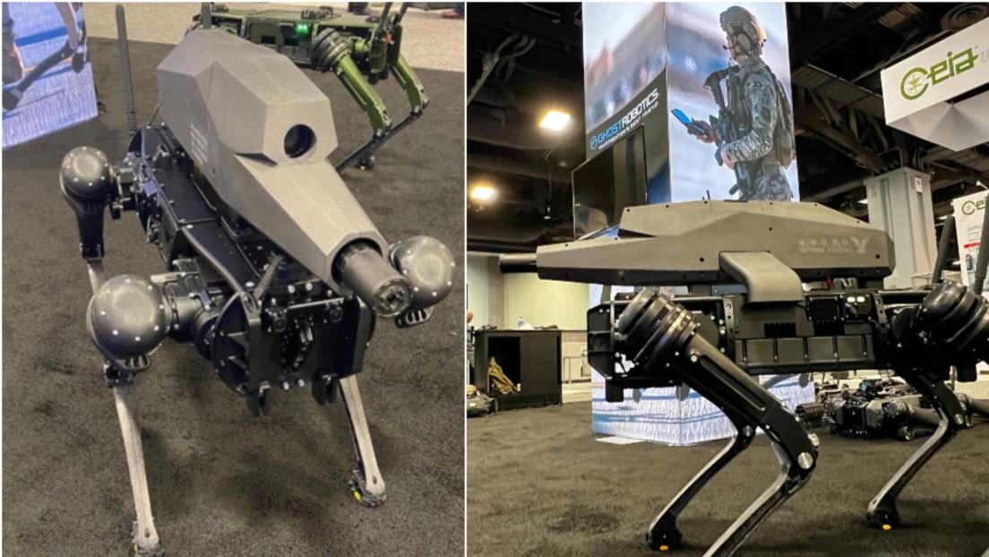 Roboterhund mit Scharfschützengewehr und Nachtsichtgerät in den USA vorgestellt