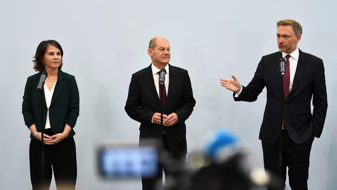 Unterhändler von SPD, Grünen und FDP einigen sich auf Koalitionsgespräche im Bund