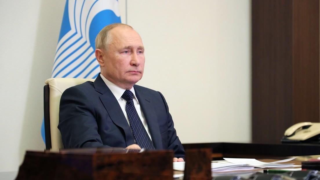 Wladimir Putin: Keine Eile mit Anerkennung der Taliban