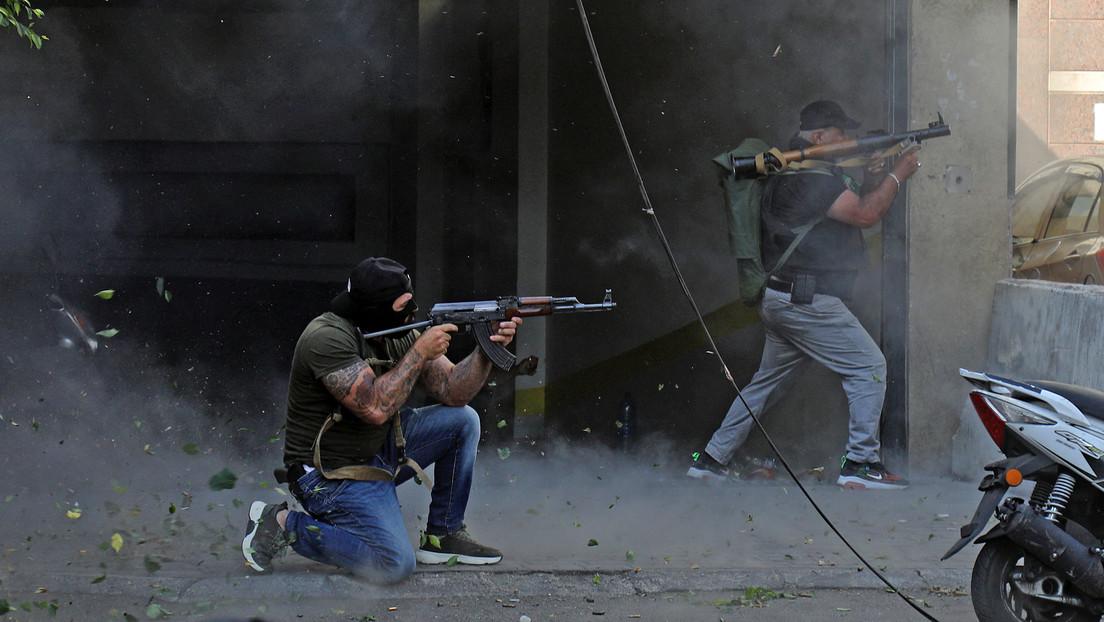"""Christliche Partei """"Libanesische Kräfte"""" soll für Feuergefechte in Beirut verantwortlich sein"""