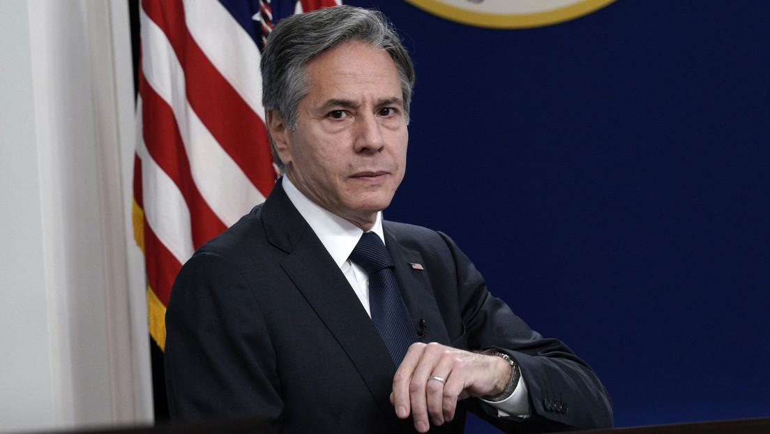 """US-Außenminister Blinken räumt ein: US-Politik ist """"gegen Wiederaufbau Syriens"""" gerichtet"""
