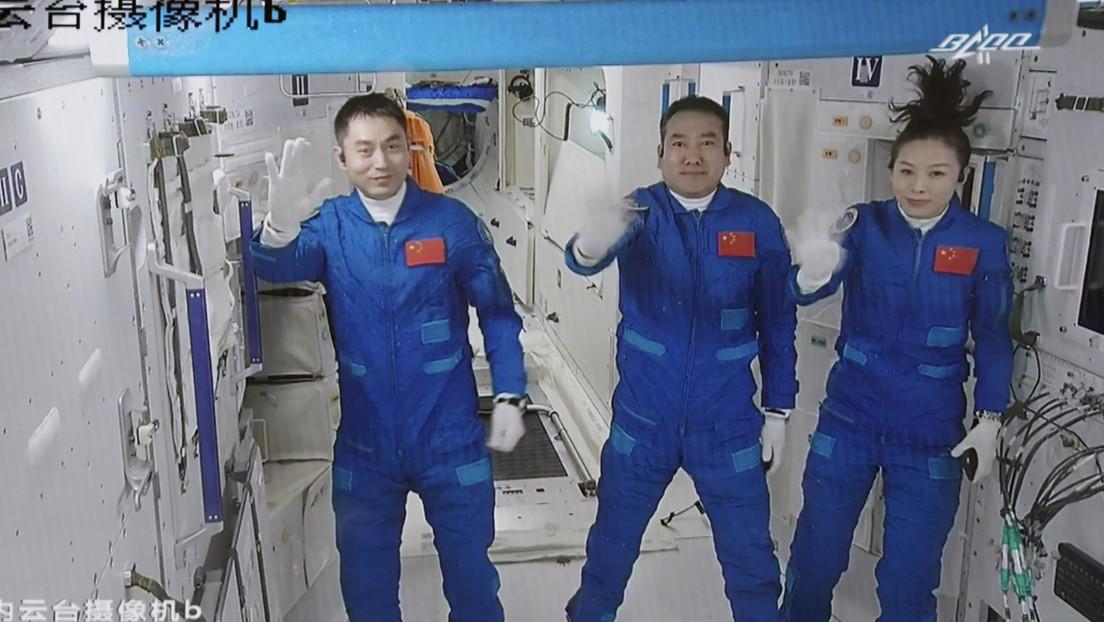 Erfolgreich angedockt: Taikonauten erreichen chinesische Raumstation