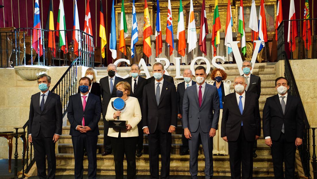Merkels Abschiedstournee – globalistischer Kuchen statt deutsche Kartoffeln