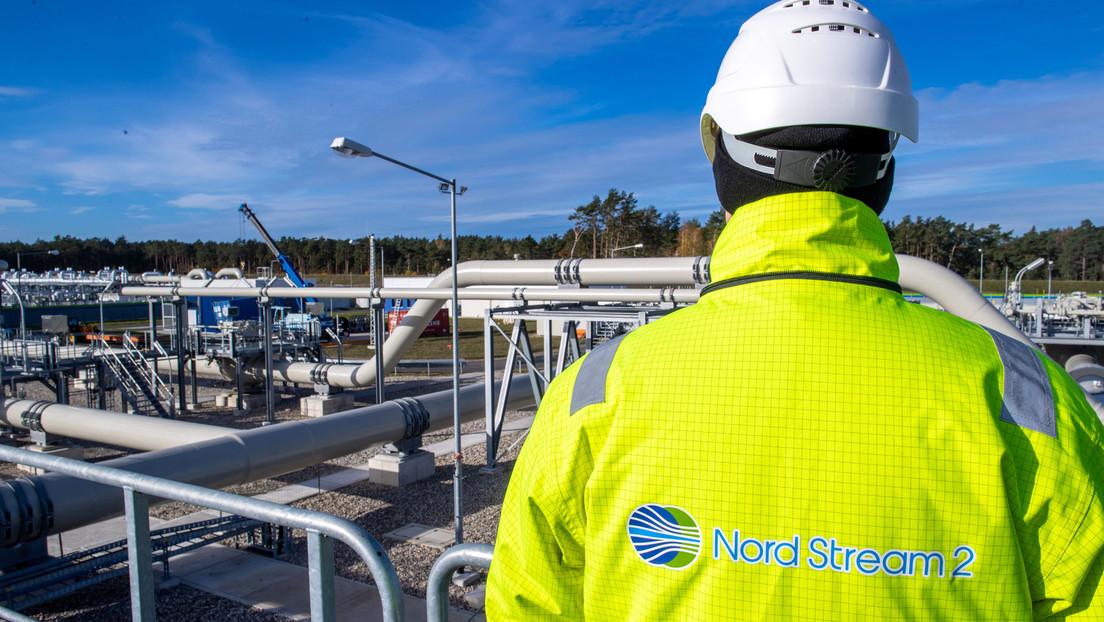 Nord Stream 2: Erste Röhre mit technischem Gas befüllt