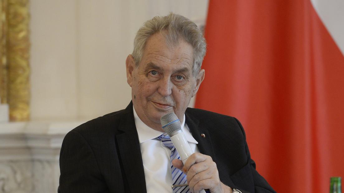 Tschechiens Senatsvorsitzender: Präsident Zeman amtsunfähig