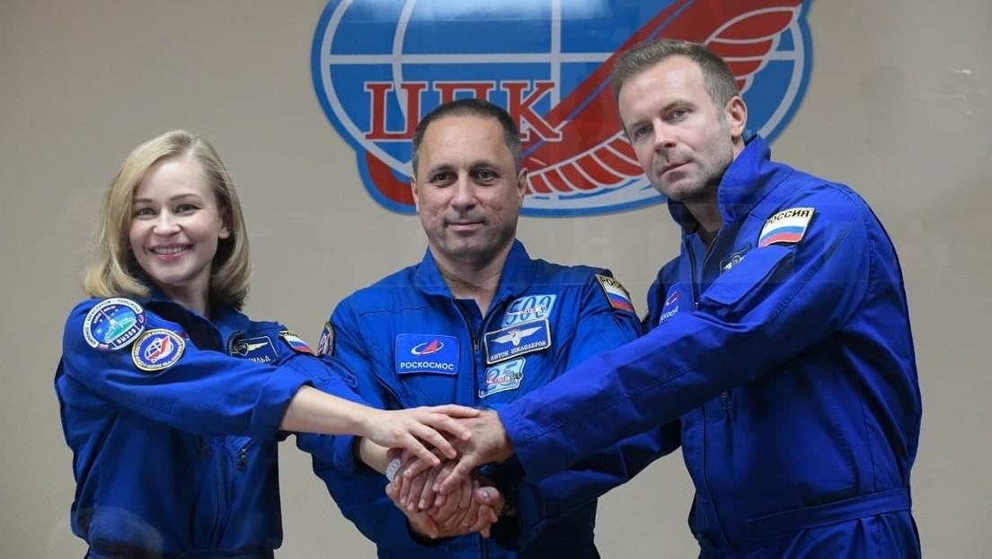 Heim auf die Erde: Russische Filmemacher kehren aus dem Weltraum zurück