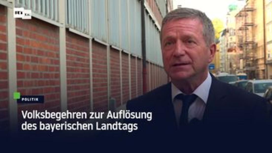 München: Volksbegehren zur Auflösung des bayerischen Landtags