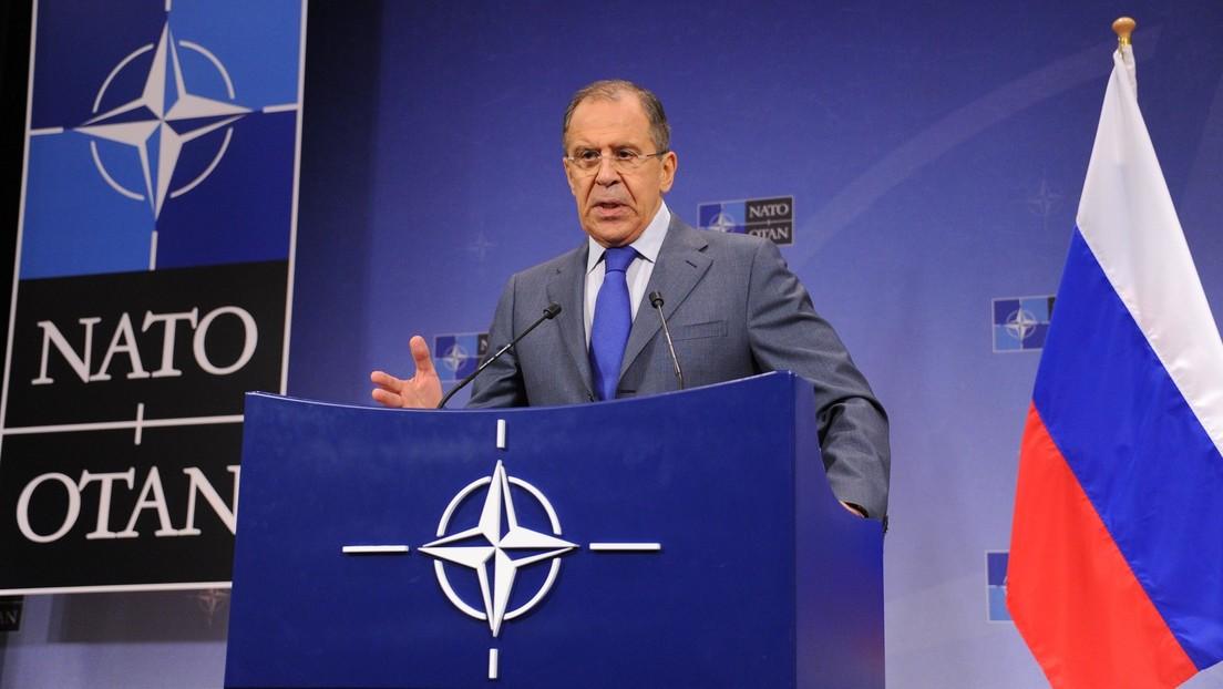 Lawrow: NATO begräbt Idee von Konsultationen mit Russland