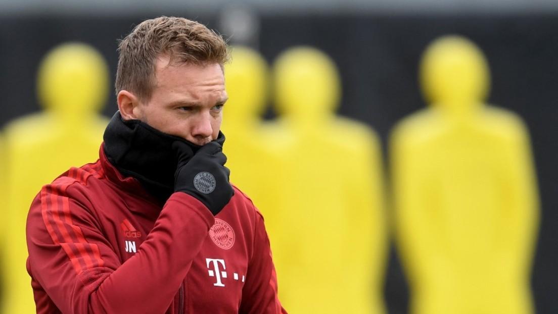 """""""Vollständig geimpft"""" – Positiver Corona-Test bei Bayern-Trainer Nagelsmann"""