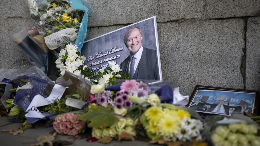 Mord an Tory-Abgeordnetem David Amess: Britische Polizei beschuldigt 25-Jährigen