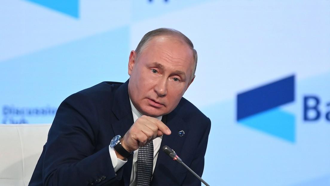 Wladimir Putin über YouTube-Sperre von RT DE: Es ist ein Fehler