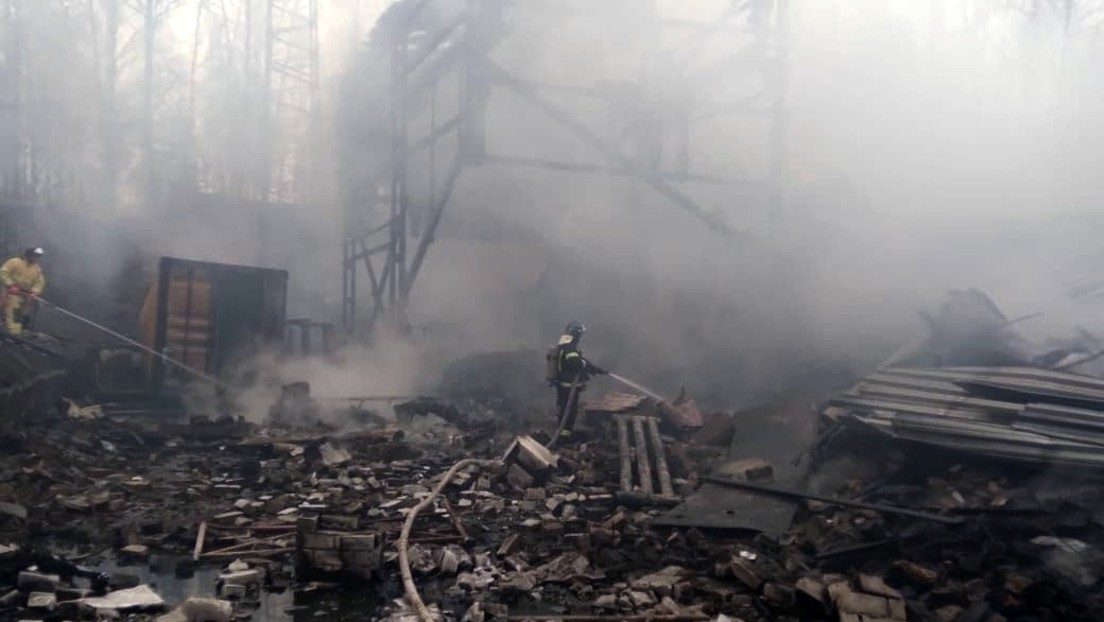 Explosion und Brand in Pulverfabrik in russischer Region Rjasan: 16 Tote, 1 Schwerverletzter