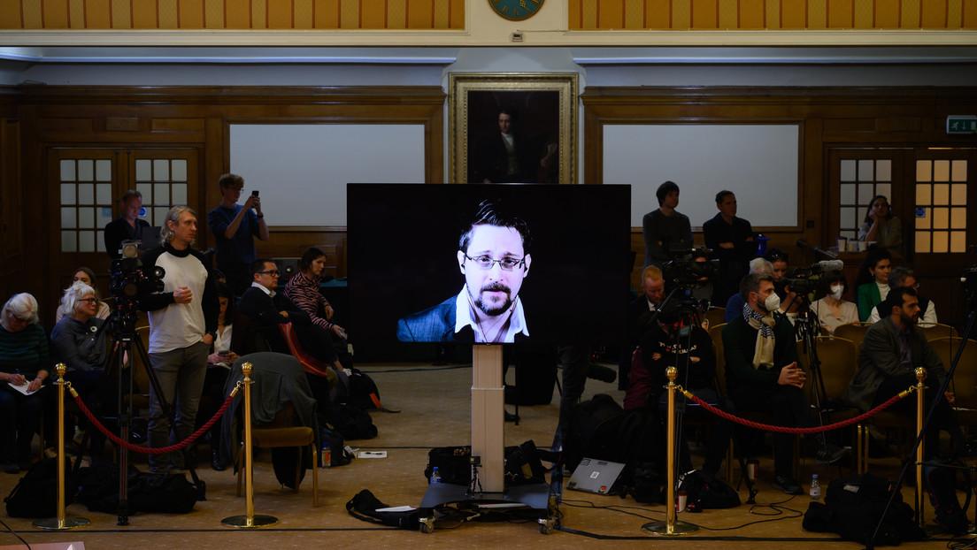 """Snowden über Assange: """"Was wir hier beobachten, ist ein Mord"""""""