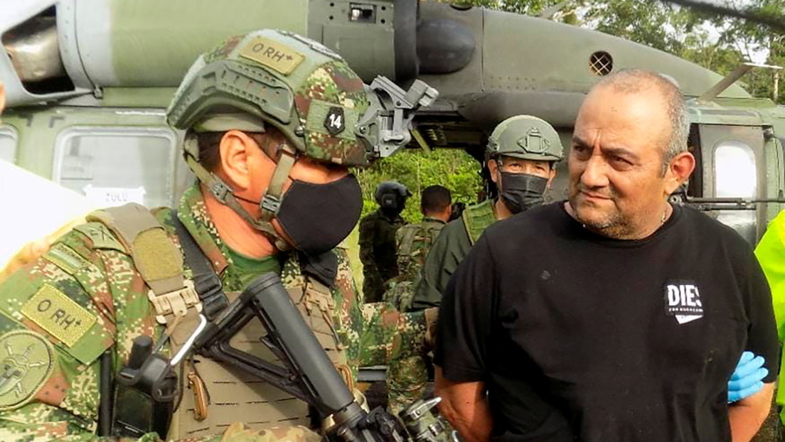 """""""Jahrhundertschlag gegen Drogenhandel"""": Kolumbianische Sicherheitskräfte fassen Drogenboss """"Otoniel"""""""